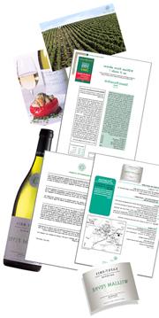 vin, marketing, vente, communication, export